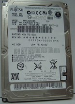 "40GB 2.5"" SATA Drive Fujitsu MHT2040BS Tested Good Free USA Ship Our Drives Work"