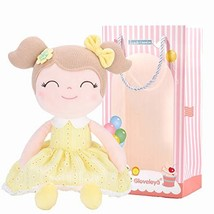 Gloveleya Baby Doll Baby Girl Gifts Plush Yellow Snuggle Buddy Cuddly So... - $20.98