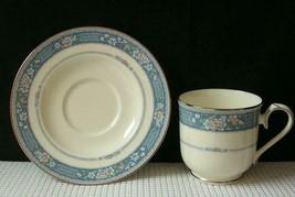 RANDOLPH  by Noritake TEA CUP & SAUCER Bone China Japan # 9721 EUC - $8.24