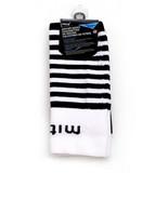 Mitre Soccer Socks Size Youth Shoe Size 3-9 Black & White Unisex Lightwe... - $5.94
