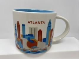 Starbucks Mug America - ATLANTA - 14 oz - 2016 You Are Here Collection - $16.82