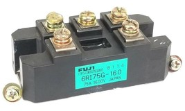 FUJI ELECTRIC 6RI75G-160 BRIDGE RECTIFIER MODULE 75A 1600V 6RI75G160