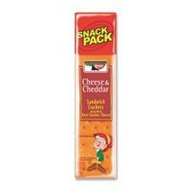 Keebler Cheese Cheddar Sandwich Crackers Snacks... - $21.05