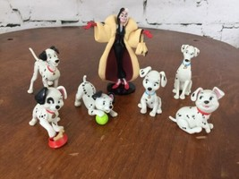 Disney Store 101 Dalmatians Figurine Playset 100% Complete 7 Pieces - $24.74