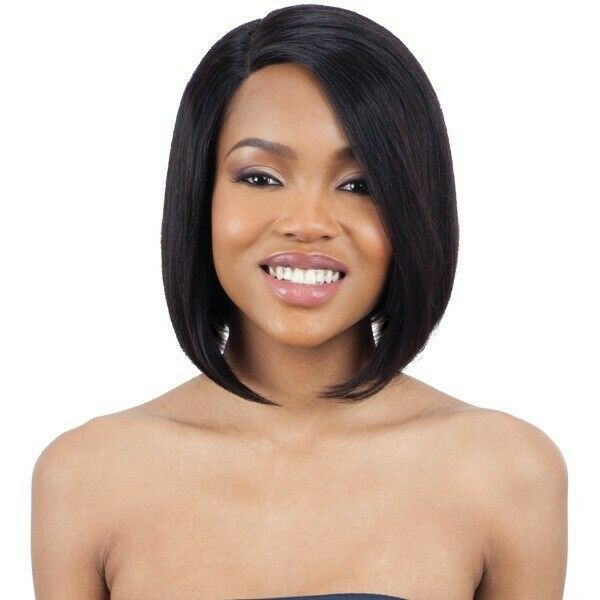 Primary image for MAYDE BEAUTY 100% HUMAN HAIR LACE AND LACE FRONT MEDIUM WIG - ANGLED BOB