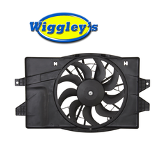 RADIATOR A/C SINGLE FAN CH3115102 FOR 93 94 95 DODGE CHRYSLER PLYMOUTH image 1