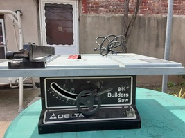 Delta Builders Table Saw - $210.00