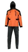 Motorcycle Apparel Rider's Rain Protection Orange Rain Suit by Daniel Sm... - $89.95
