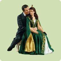 Hallmark Scarlett O'Hara and Rhett Butler 2004 Onament - $39.60