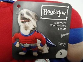 "Bootique S Superhero Dog Pet Costume Halloween Small New 13-15"" 2688371 ... - €11,32 EUR"