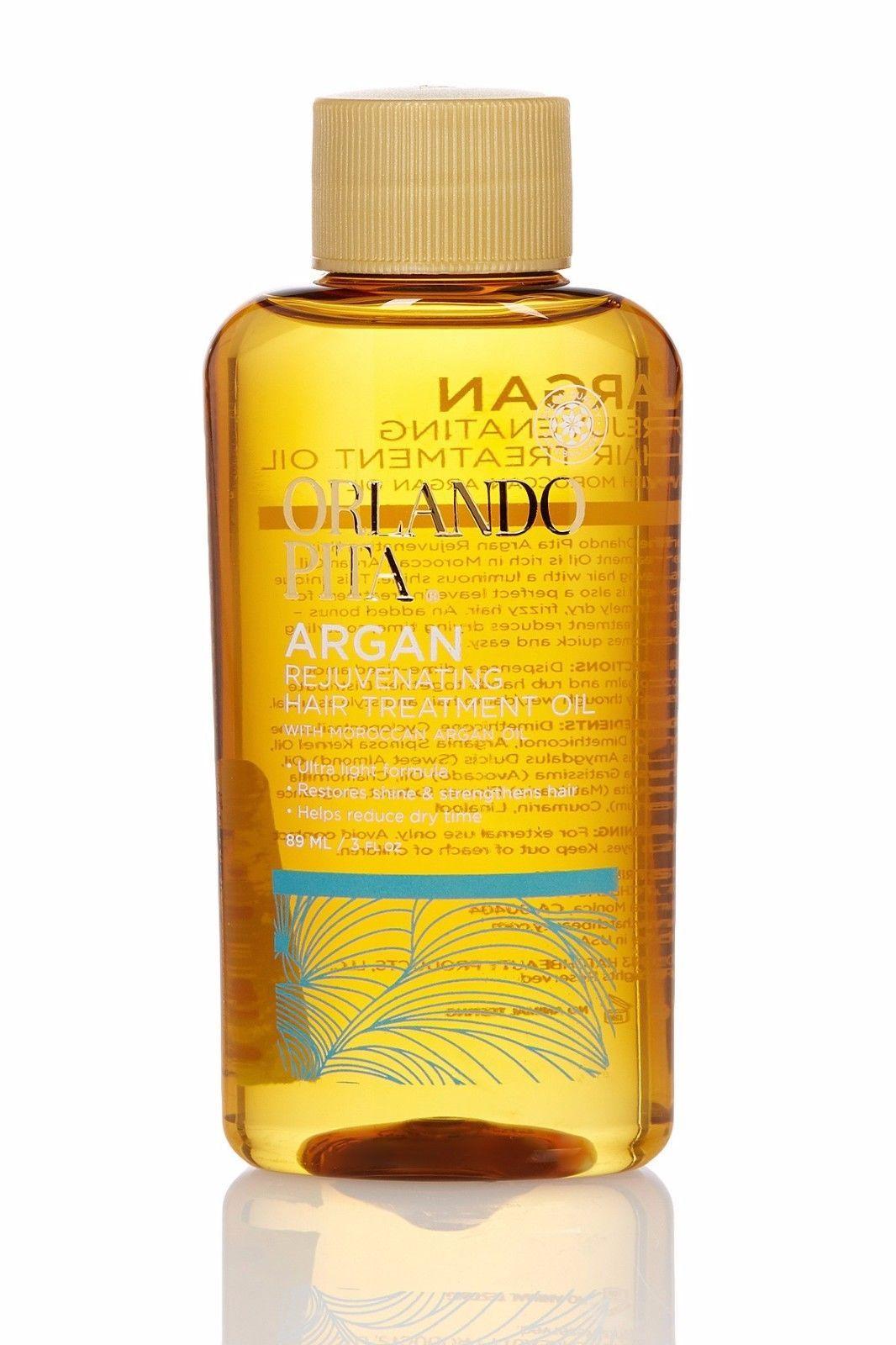 Orlando Pita Argan Rejuvenating Hair Treatment Oil - Moroccan Argan Oil - 3 oz for sale  USA