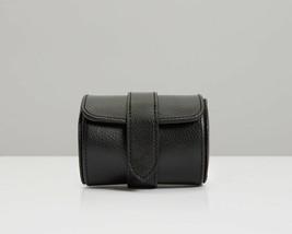 WOLF Blake Single Watch Roll Travel Case - Black/Grey 306102 - $89.00