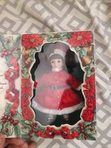 Vintage Marie Osmond Doll, Winter Holiday Christmas Doll 1998 - $23.36