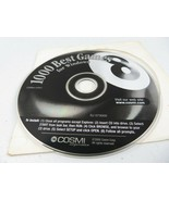 Vintage DVD ROM PC 1000 Best Games for Windows 8  - $10.00