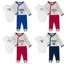 NCAA Infant Boy's Future Champ 3-Piece Bodysuit Pants Set Newborn Baby Football