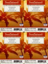ScentSationals Summer Lovin Wax Cubes - 4-Pack - $24.45