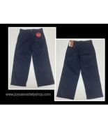 Dickies Flex Boys Pants Classic Fit Kids Sz 8 Husky Navy Blue - $9.99