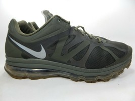 Nike Air Max + 2012 Taille Us 18 M (D) Ue 52.5 Homme Chaussures Course Vert