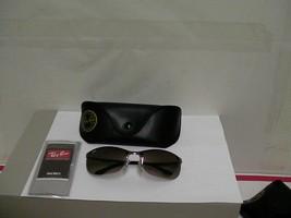 Authentic ray ban sunglasses rb 3390 wrap sport gunmetal frame - $104.51