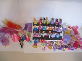"Lot 21 Mattel 2012 Disney The First  Princess Mini Dolls 3"" & Cinderella... - $39.60"