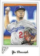 2017 Topps Gallery Artist Proof #26 Yu Darvish NM-MT Los Angeles Dodgers - $3.99