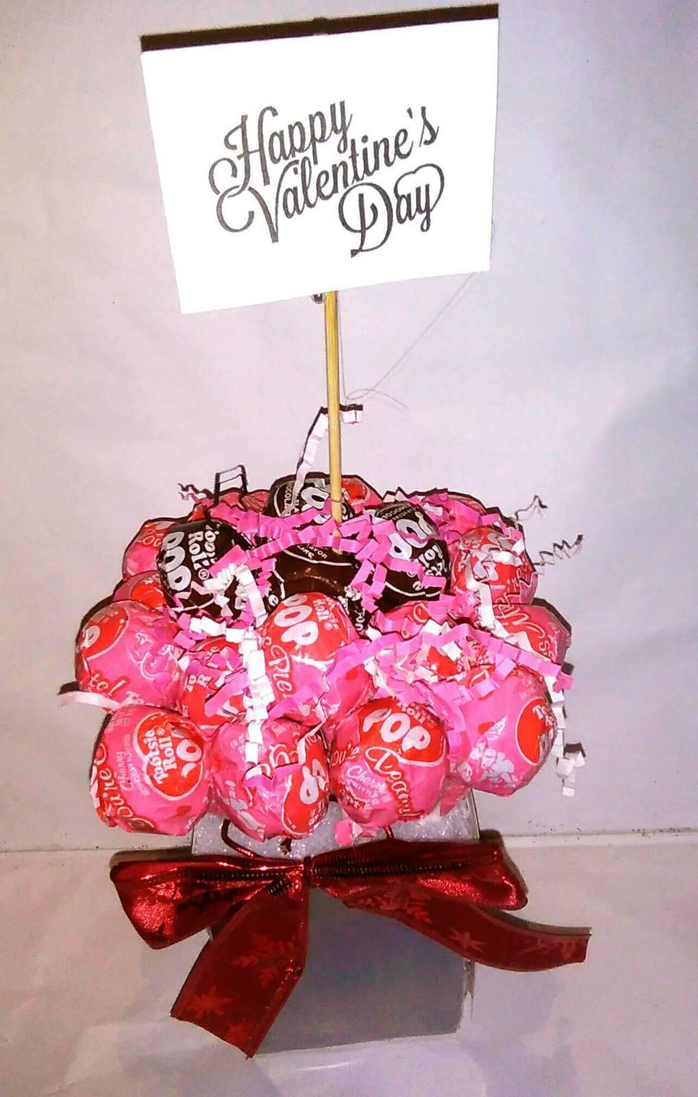 Valentines Day Lollipop Bouquet