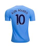 new KUN AGUERO #10 Manchester city 2017 2018 17 18 home Men Jersey - $26.98