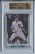 KRIS BRYANT RC (Graded BGS 9.5) 2014 Bowman Chrome Draft Top Prospects #... - $21.99