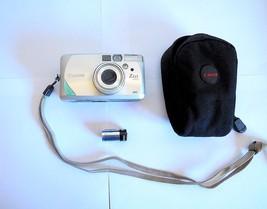 Canon Sure Shot Z155 35mm Film Autofocus Camera 37-155 mm lens, Case, Ba... - $29.00