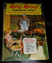 1957 Big Boy Barbecue Book Shows how easy it is to cook on Spit or Grill - $9.49
