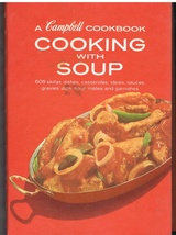 Cooking with Soup Vintage Campbells Cookbook Spiral Bound Hardcover - $6.99