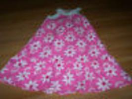 Girls Size 6 George Pink White Floral Halter Sundress Sun Dress Flower P... - $14.00