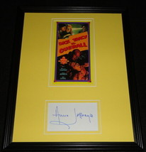 Anne Jeffreys Signed Framed 11x14 Photo Display Dick Tracy vs Cueball - $45.45