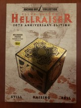 Hellraiser 20th Anniversary Best Buy Exclusive complete with poster DVD image 1