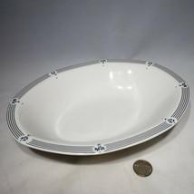 VTG Royal Doulton Calico Blue Oval Serving Vegetable Bowl England Discon... - $21.95