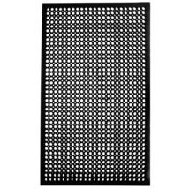 Cactus Mat 2530-C5BX 36' x 60' Black Rubber Restaurant Kitchen Floor Mat - $59.59