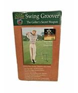 NEW Dennco Club Champ Swing Groover Golf Trainer Indoor Outdoor Metal Mo... - $29.65
