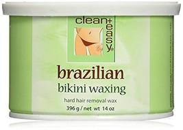 Clean + Easy Hard Wax, Brazilian, 14 Ounce - $19.95