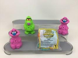 Muppet Workshop Vintage 90s Toy 4pc Lot Bird Dog Monster 1994 McDonalds ... - $11.53