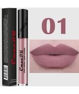 Women Waterproof Metallic Pigment Matte Lipstick Lip Gloss Makeup Cosmet... - $6.00