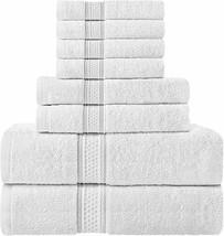 Utopia Towels Set 8 pcs 600 GSM 100%  - $63.89+