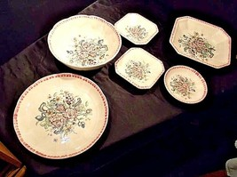 Serving Dishes AA18-1341 Vintage ITALY for HiMark (Set of 6)