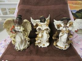 SET OF 3 RESIN ANGEL FIGURINES - $24.75