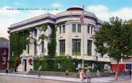 Public Library/Atlantic City NJ/Unposted Vintage POSTCARD - $3.99
