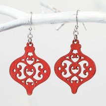 Flourish - Earrings Ornament