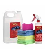 MTO Waterless Car Wash Wax Kit 144 Ounces, Aircraft Quality Car Clean Wa... - $38.11
