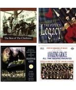 Lot of 4 CDs Celtic Scottish Instrumental - No Cases - $2.99
