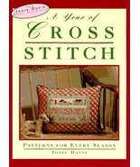 A Year of Cross-Stitch: Patterns for Every Season (Jodie Davis Needle Ar... - $9.83