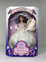 Mattel Disney Musical Belle Barbie Beauty and the Beast The Wedding Doll... - $34.29