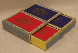 VINTAGE CHICAGO ILLINIOS SOUVENIR PLAY CARDS 2 DECK BOX - $8.90